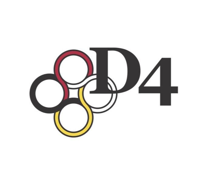 D4 logo whitespace