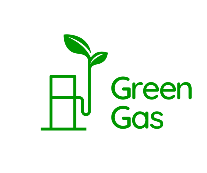 Green gas logo