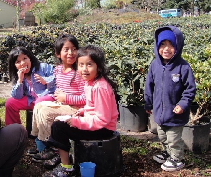 Children in farm