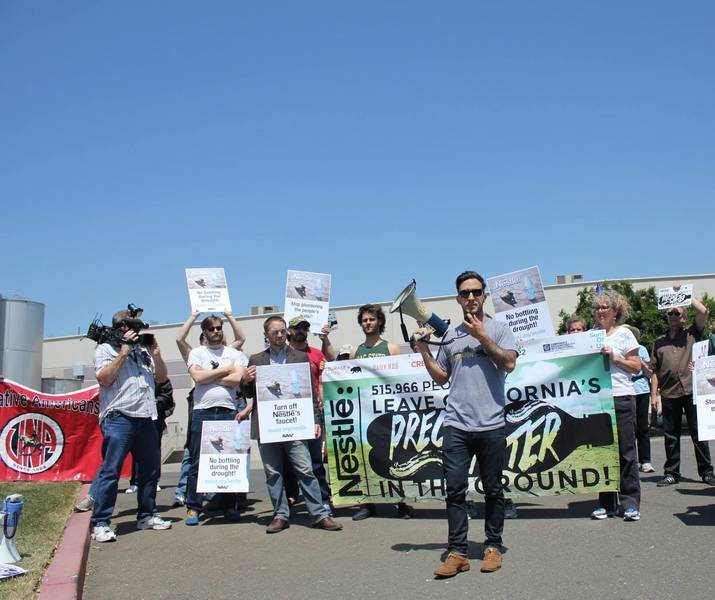 Tim leading nestle protest